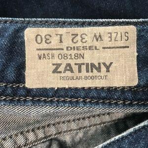 2f7d0f18 Diesel Jeans - DIESEL Men's ZATINY Bootcut Jeans W 32 L 30